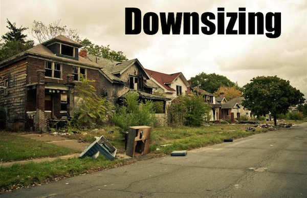 50 words for 50 states, michigan downsizing