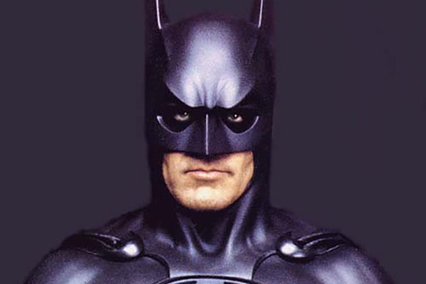 Poorly Cast Superheroes And Villains In Film History, george clooney, batman