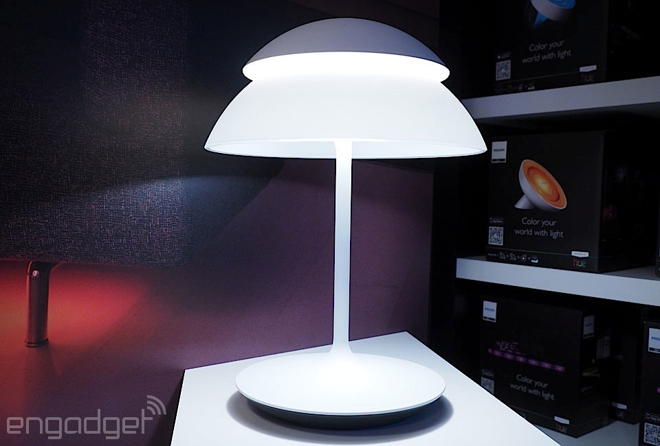 Hedendaags Philips' Hue Beyond looks like a lamp, only smarter NA-17
