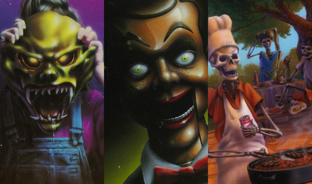 things that perfectly sum up the '90s, '90s nostalgia, r.l. stine goosebumps