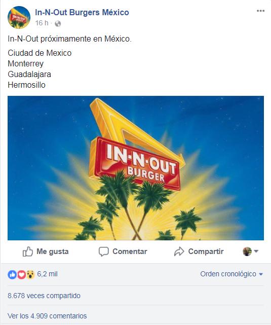 Las famosas hamburguesas In-N-Out llegan a México... ¿o no?