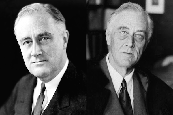 US presidents before and after term, franklin d roosevelt