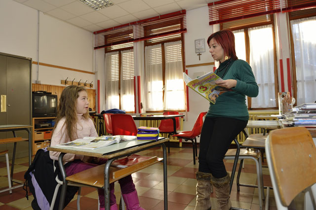 Inside The World S Smallest School Girl 8 Is The Only