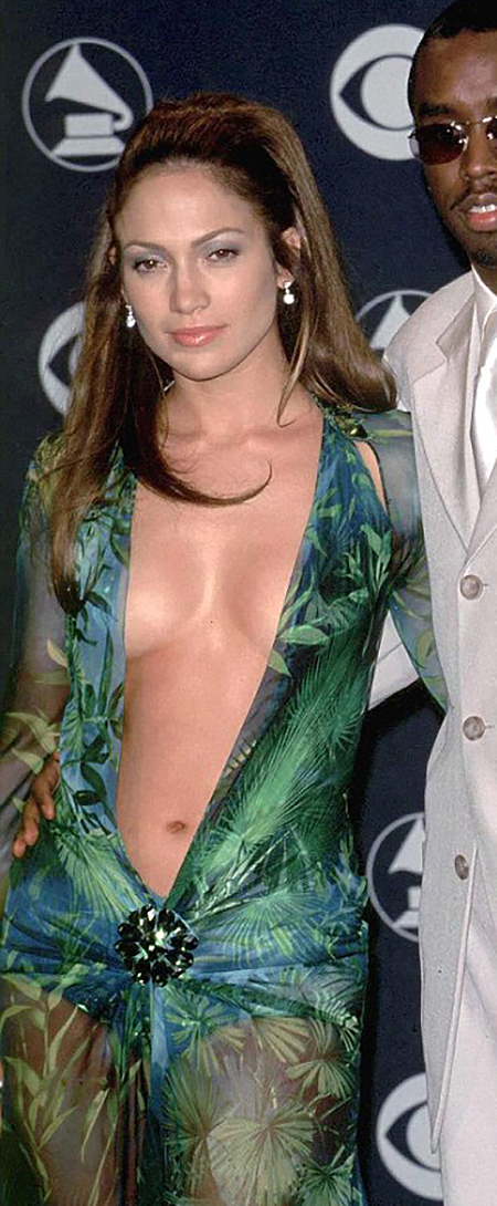 The Sexiest Red Carpet Looks of All Time, Jennifer Lopez