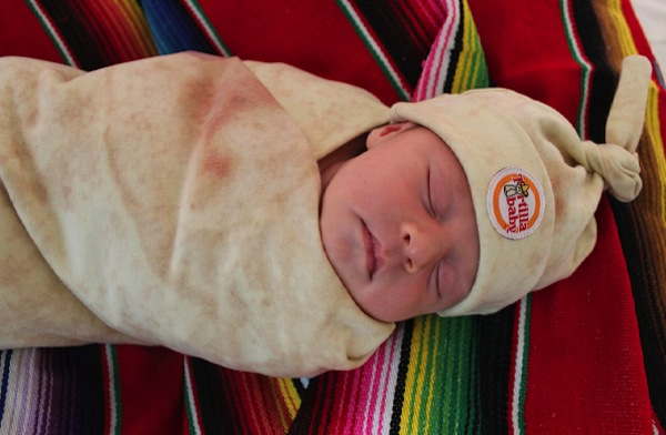 consumer products we're surprised aren't more popular, funny consumer products, awesome consumer products, tortilla baby