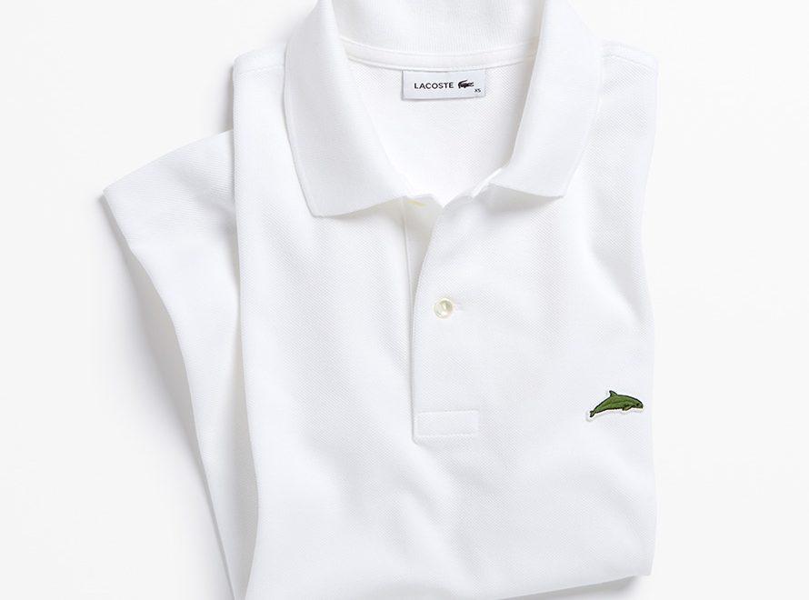 Lacoste cambia su famoso logo de cocodrilo por el de vaquita marina