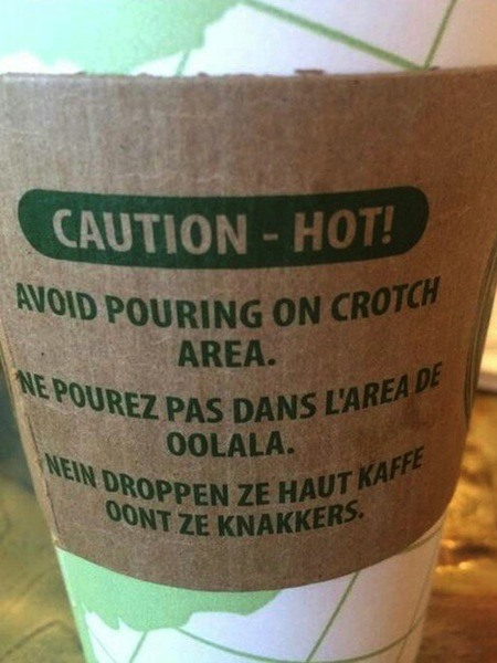 something ain't right photos, hidden funny photos, avoid pouring on crotch label