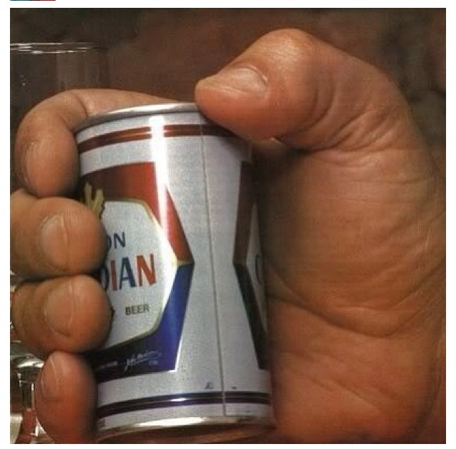 manliest photos on the internet, funny manly images, andre the giant holding beer can