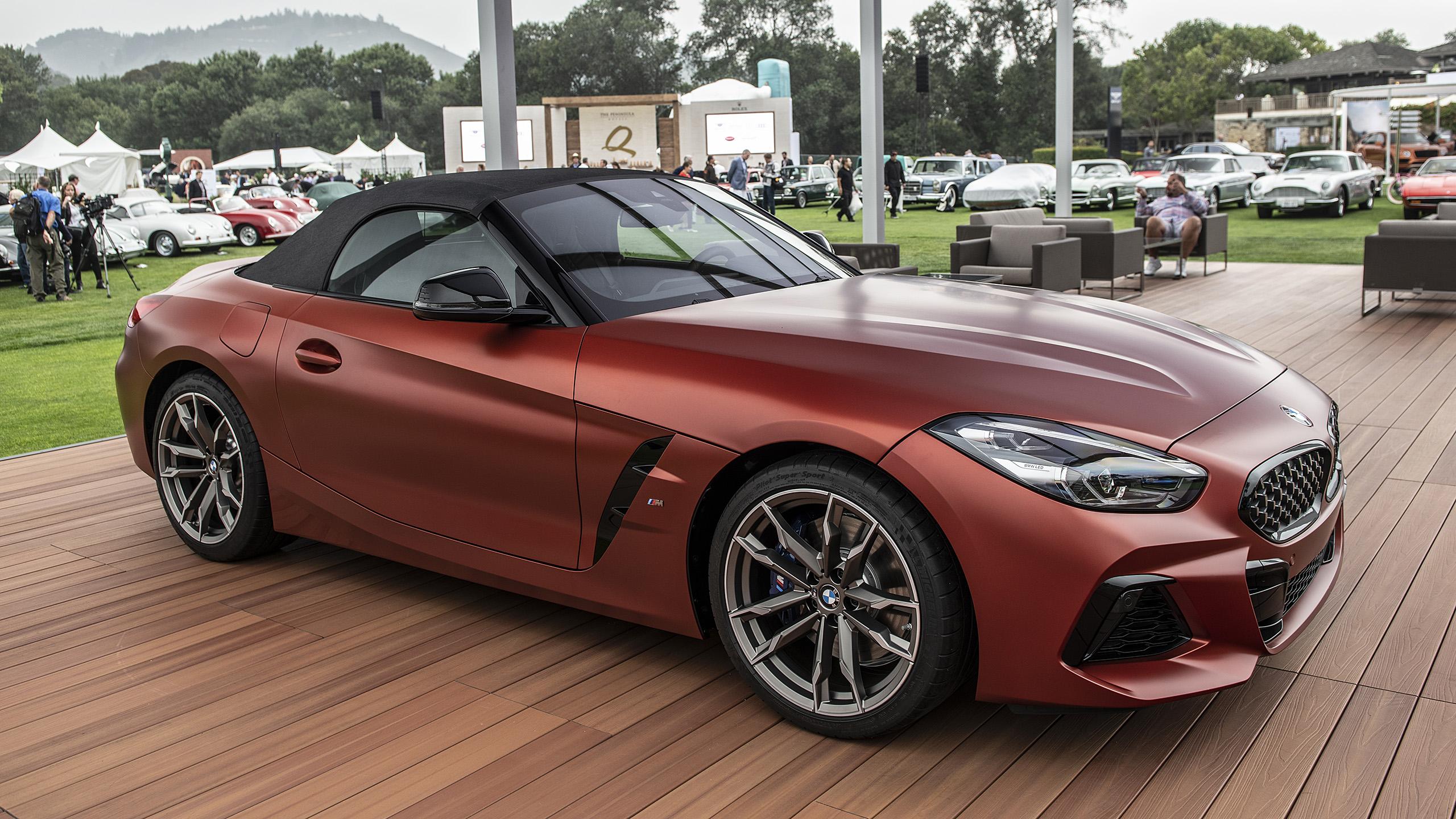 מדהים 2019 BMW Z4 M40i revealed at Pebble Beach - Autoblog KN-83