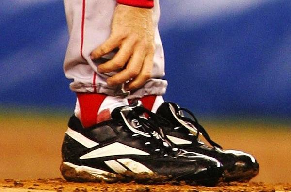 sports urban legends, curt schilling bloody sock