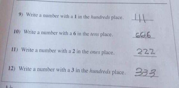 Smart Ass Kid 'Cheats' On His Test And Doesn't Break Any Rules At All