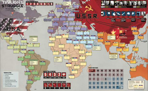 Twilight Struggle now coming to Linux Mac and Windows PC