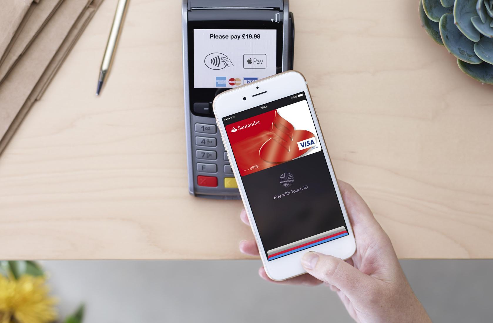 Santander Iphone