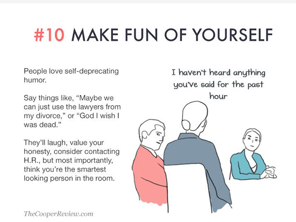 10 ridiculous but brilliant ways to look smart in a meeting