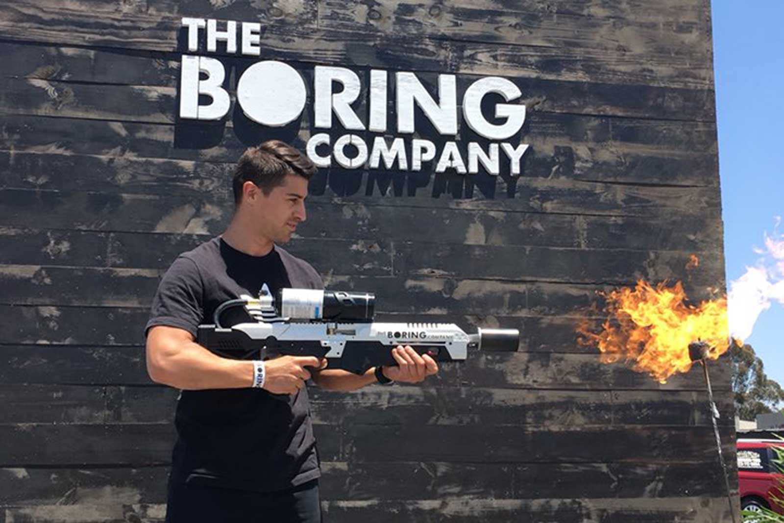 the boring company 39 s 39 not a flamethrower 39 reaches. Black Bedroom Furniture Sets. Home Design Ideas