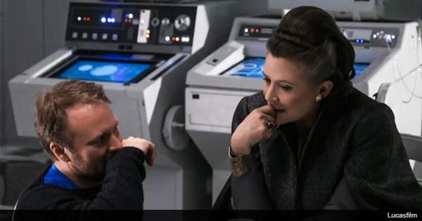 """""""星球大战:最后的绝地"""",已故演员费舍尔将这些联合演员称为""""状态良好"""""""