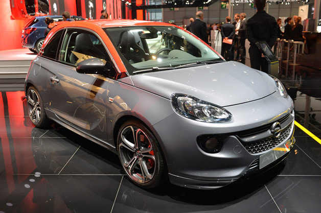 2015 opel adam s dons a red cap gets turbo boost. Black Bedroom Furniture Sets. Home Design Ideas
