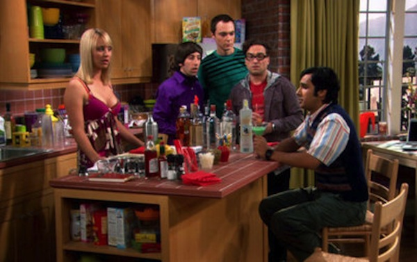 reasons it sucks not to be a big drinker, sober at the bar funny, big bang theory