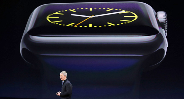 tim cook apple unveils smartwatch