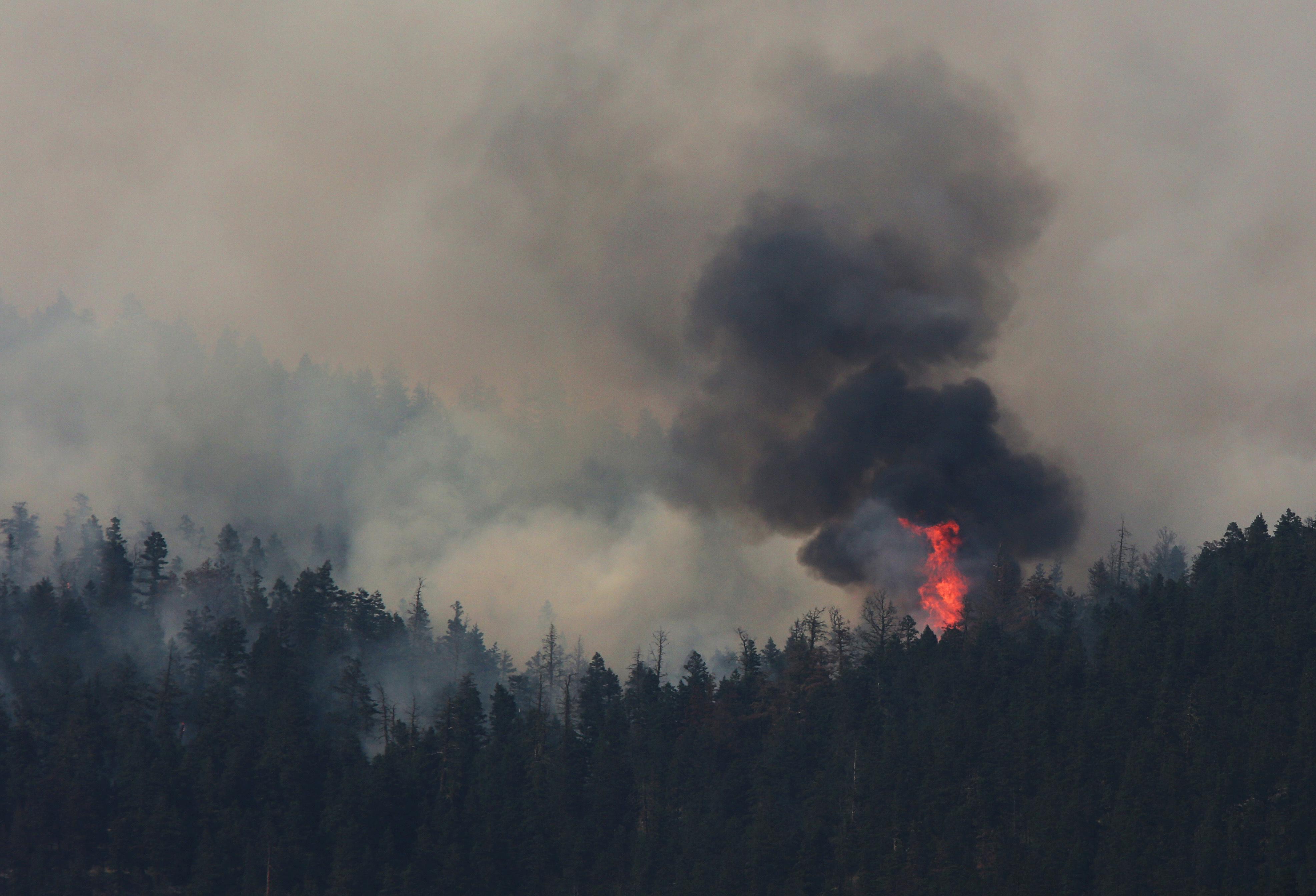 Banff National Park Wildfire Prompts Sunshine Village Guests To Leave Resort