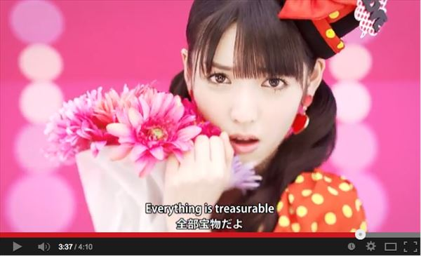 10/15 Michishige Sayumi毕业前最后一次发布!歌词中隐藏着三个故事