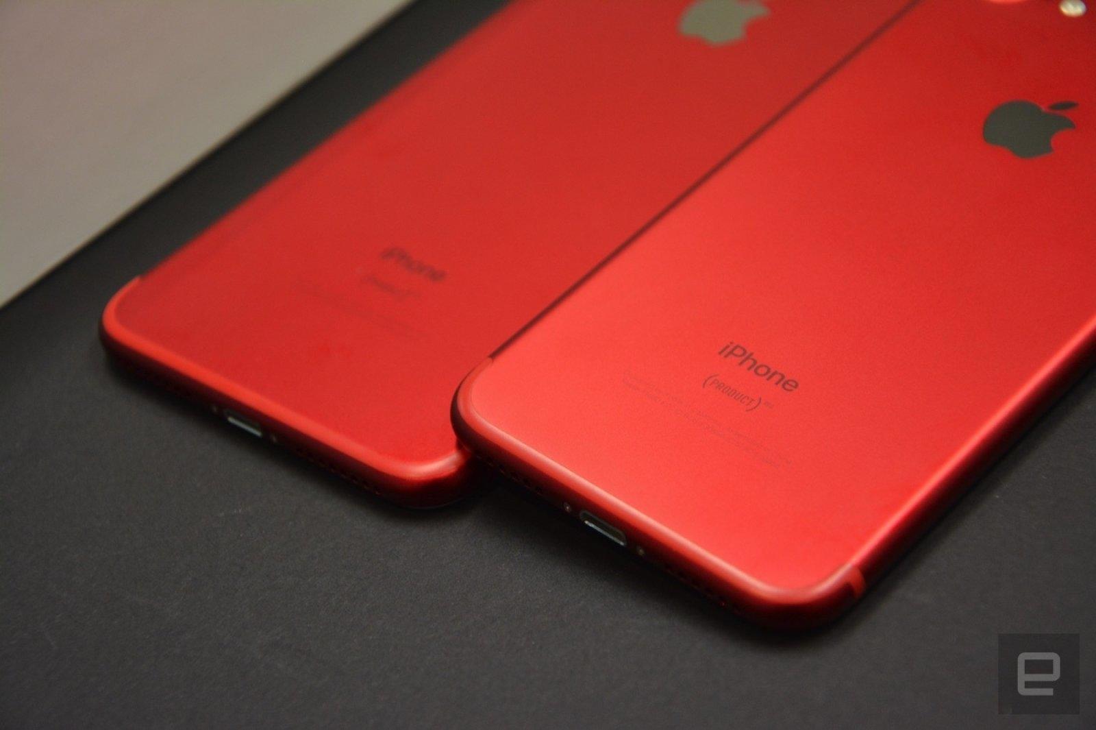 iphone 8 erscheint in rot engadget deutschland. Black Bedroom Furniture Sets. Home Design Ideas