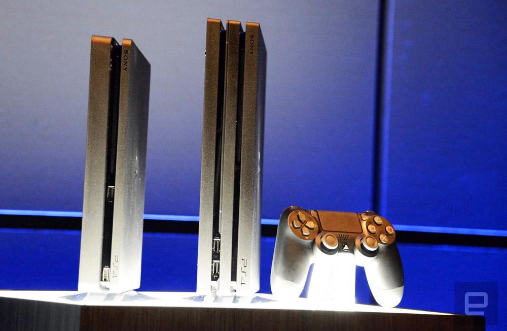 sony zeigt 4k konsole playstation 4 pro engadget. Black Bedroom Furniture Sets. Home Design Ideas