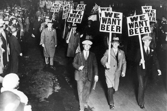 manliest photos on the internet, funny manly images, prohibition we want beer protest signs 1932