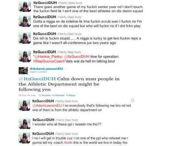 dumb athlete tweets, jamal shuman tweets