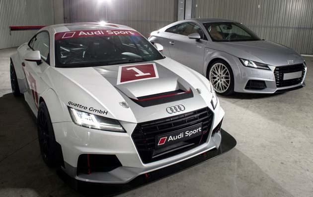 2015年のシーズン中は、ドイツとその近隣国で開催されるDTMの一環とし... アウディ「TT」