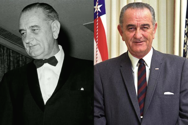 US presidents before and after term, lyndon b johnson