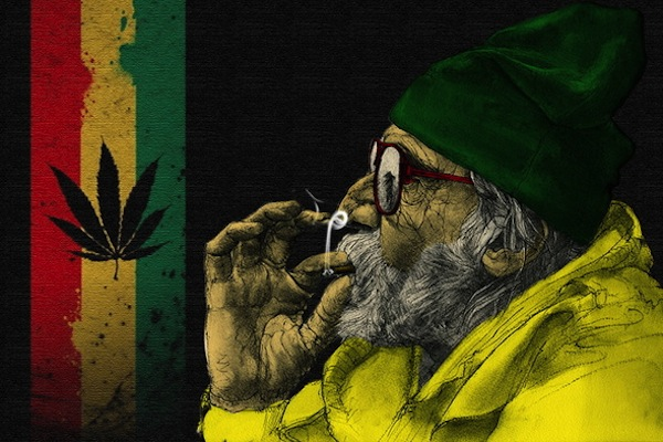 25 fun facts about marijuana, fun marijuana facts, rastafarian italy flag marijuana