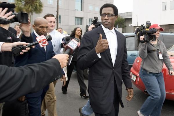 celebrities in jail, wesley snipes
