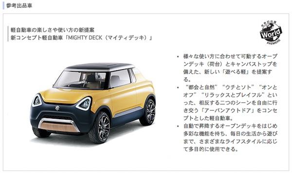 """Choro Q"",""Iron Man""和""Akira Toriyama""铃木的新概念车飞走了!"