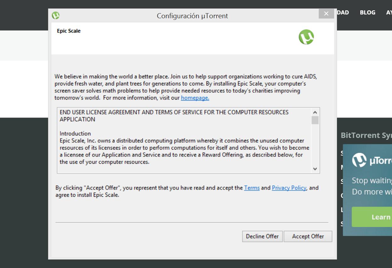 uTorrent convierte tu PC en un minero de Bitcoins (pero sólo si tú quieres)