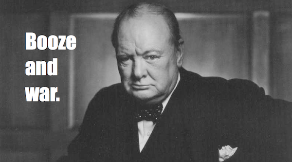one-line summaries famous historical figures, winston churchill