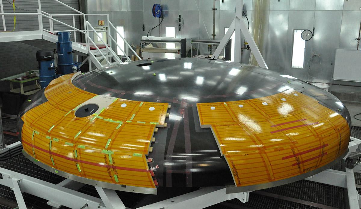 spacecraft heat shield heat - photo #12