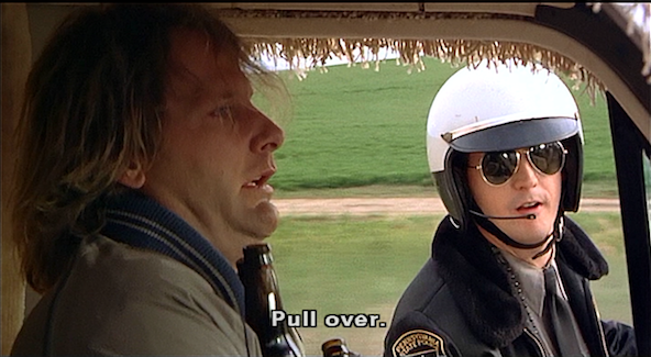 Dumb and Dumber Pull Over