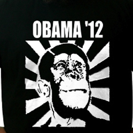 racist republican shirts, most racist republican t-shirts, obama 2012 monkey shirt