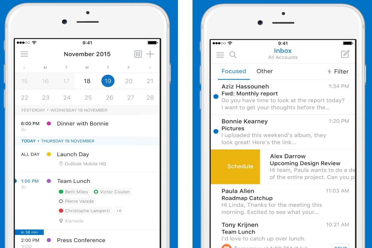 Outlook App For Iphone Calendar