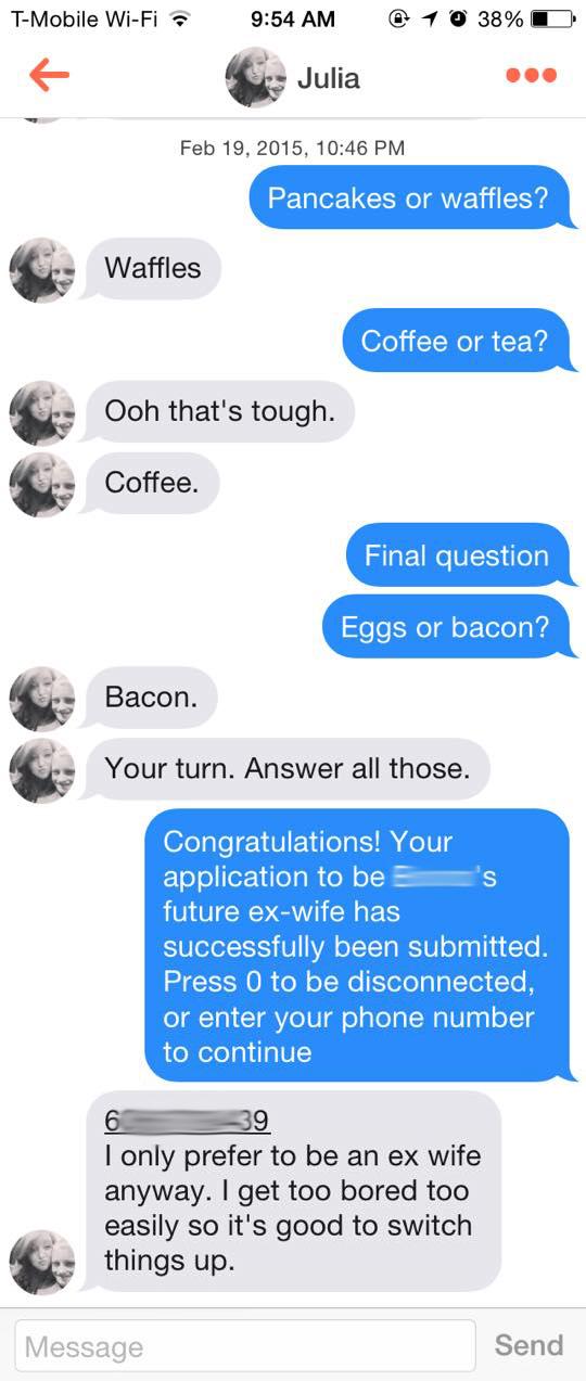 Pancakes Or Waffles Tinder Dating