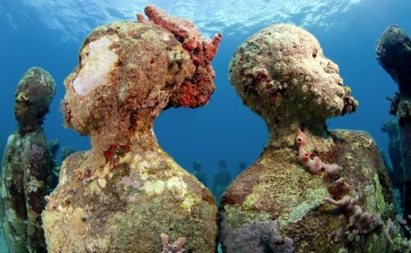 imagen Museo subacuático Lanzarote museum+heads