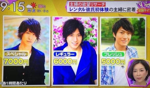 japanese odd jobs, strange japanese professions, boyfriend rental