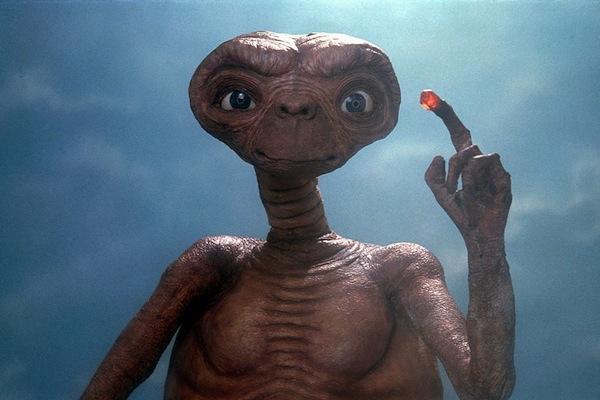 most memorable tv and movie aliens, memorable aliens, et extra terrestrial