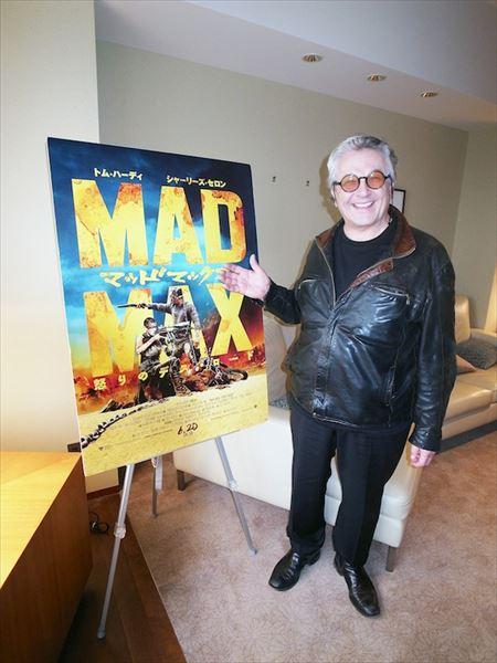 """98%的放映时间是行动的杰作!直接击中""""疯狂的麦克斯""""导演乔治米勒"""