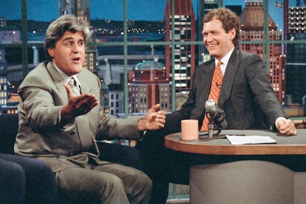 comedian feuds showdown, jay leno david letterman
