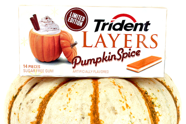 worst consumer product flavors, pumpkin spice trident layers gum