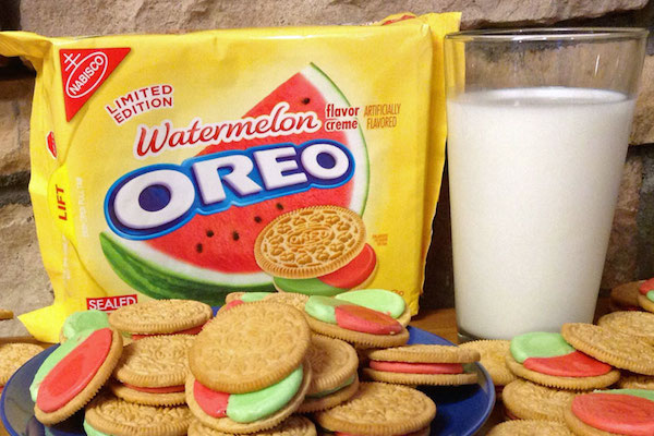 worst consumer product flavors, watermelon oreo cookies