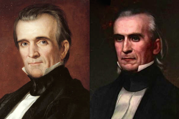 US presidents before and after term, james k polk