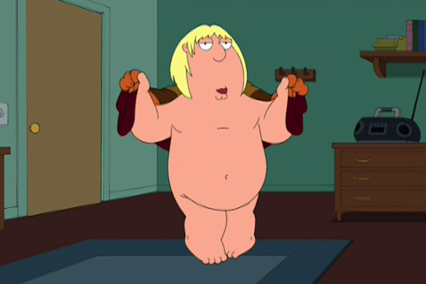 things every man does with his penis, things men do with their penises, chris family guy buffalo bill